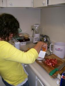 Preparation of ice cream ingredients